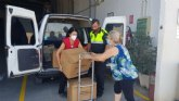 La Delegación del Gobierno entrega 8.000 mascarillas para repartir a los colectivos más vulnerables y personal de servicios esenciales