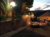 La concejal�a de Medio Ambiente vuelve a fumigar contra los mosquitos