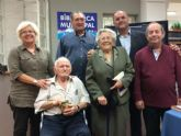 La Concejalía de Cultura realiza un reconocimiento a la primera bibliotecaria y a los dos usuarios más antiguos