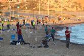 Un centenar de pescadores disputan el Campeonato de España Mar Costa en Mazarrón
