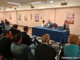 """Se celebra con gran aceptación la conferencia """"Evolución urbanística de Totana a mediados del siglo XX"""""""