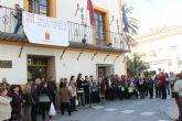 Un centenar de personas han acudido esta mañana a la Marcha Popular y a la Lectura del Manifiesto contra la Violencia de Género