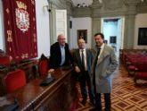 Los diputados de Ciudadanos conocen de cerca las principales líneas estratégicas del Grupo Municipal de Cartagena