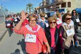 La marcha contra la violencia de género en Las Torres de Cotillas reúne a más de 500 personas y recauda cerca de 1.300 euros