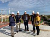 El polideportivo municipal amplía sus instalaciones con un nuevo edificio de 1200 metros