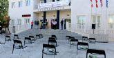 Lorquí recuerda con 41 sillas vacías a las víctimas mortales de violencia de genero de 2020
