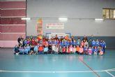 Los equipos benjamines de la Cañadica y Miguel Delibes disputarán la fase regional de 'jugando al atletismo'
