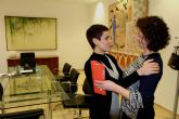 Reunión con la alcaldesa de beniel por los daños del temporal