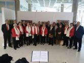 Clausurada la exposicion de arte de los mayores de Alumbres en el Centro Cultural