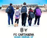 Derbi en el Cartagonova para luchar contra el absentismo escolar