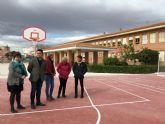El Ayuntamiento renueva las instalaciones deportivas del CEIP Servero  Ochoa