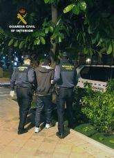 La Guardia Civil esclarece una decena de robos en garajes comunitarios de Alguazas