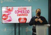 La concejalía de Comercio pone en marcha la campaña 'Nuestro Comercio Enamora'