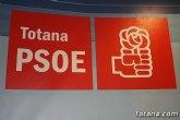 El PSOE de Totana realizará mañana sábado una consulta entre sus militantes sobre el acuerdo de legislatura entre PSOE y Ciudadanos