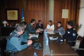 El delegado del Gobierno y la alcaldesa de San Pedro del Pinatar estudian medidas para reforzar campañas de prevención de delitos