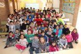 Álex y Piqueras visitan el Colegio Félix Rodríguez de la Fuente de Murcia