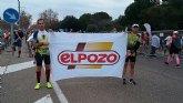 Atletas del Club Atletismo Totana participaron en la V Carrera Base Aérea de Alcantarilla y Maratón de Sevilla