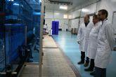 Autoridades municipales visitan las nuevas instalaciones de 'El Torrejón'