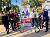 La primera marcha cicloturista por los carriles bici de los barrios de Murcia será a beneficio del Banco de Alimentos