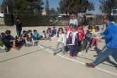 Programa ADE y CA Elcano acercan el atletismo a  alumnos del CEIP Luis Calandre