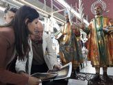 La Comunidad restaura las tallas de los Santos Médicos de Abarán