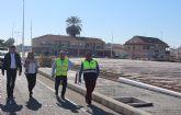 El Ayuntamiento mejora el acceso al municipio por la Avenida del Puerto