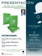 La Fea Burguesía Ediciones presenta Muro de carga, último poemario de Ángel Almela Valchs