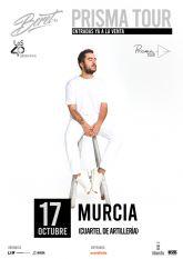 Beret anuncia nueva fecha en Murcia dentro de su 'Prisma tour'