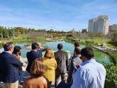 El Ayuntamiento de San Javier estudia la construcción de un parque urbano inundable en el Peri de Telefónica