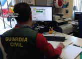 La Guardia Civil detiene al presunto atracador de una gasolinera de Cieza