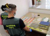 La Guardia Civil desmantela un activo punto de venta de drogas en San Javier