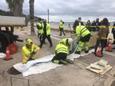La Comunidad ultima las obras de reparación de colectores de saneamiento en varias zonas de Los Alcázares