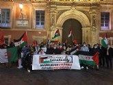El pueblo saharaui y Frente Obrero se concentran en la Plaza de la Catedral