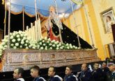 La Virgen de Los Dolores mostró su esplendor durante la Procesión del Dolor y del Santo Entierro 2016