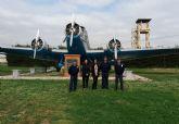 La directora general de Calidad y Evaluación Ambiental visita la base aérea de Alcantarilla