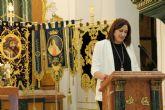La cofrade Isabel María Navarro pregonó la Semana Santa de Puerto Lumbreras
