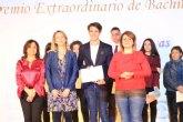 El alhameño Pablo L�pez recibe el Premio Extraordinario de Bachillerato