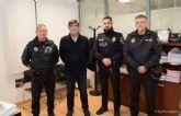 Aspirantes a oficiales de la Escuela de Formacion regional de Policias Locales, de practicas en Cartagena
