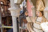 El Ayuntamiento restaura las hornacinas de los Cuatro Santos cartageneros