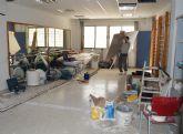 Comienzan las obras para implantar un servicio de fisioterapia en Las Torres de Cotillas