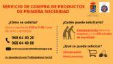La Concejalía de Bienestar Social de Molina de Segura pone a disposición exclusivamente de las personas mayores o con movilidad reducida un servicio de apoyo para la realización de tareas básicas durante el estado de alarma por el COVID-19