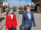 La Comunidad invertirá 245.800 euros en mejorar la seguridad vial de la travesía de Cehegín