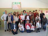 Alumnos del IES Rambla de Nogalte participan en el proyecto Empresa Joven Europea (EJE) que fomenta el espíritu emprendedor de los jóvenes