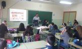 Imparten charlas informativas en materia de Consumo en el IES 'Prado Mayor'