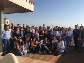 El alcalde recibió a un grupo de estudiantes ingleses, alemanes, rumanos y españoles del IES 'Ruiz de Alda' unidos por el programa europeo Erasmus+