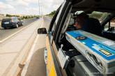Un total de 8791 vehiculos pasaron por los controles de velocidad de la Policia Local durante la campaña especial de trafico