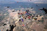 La Base Aérea de Alcantarilla intentará batir el récord nacional de grandes formaciones en caída libre