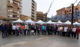 Desde ayer Alcantarilla disfruta de la I Feria Educativa 'AlcanEduca'en la plaza Adolfo Suárez