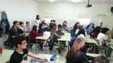 Alumnos franceses visitaron el IES Prado Mayor en un programa de intercambio escolar