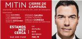 Francisco Saavedra: 'En Ferraz y Princesa han escogido Alcantarilla para cerrar la campaña de las generales porque quieren recuperar el Ayuntamiento tras 24 años de mala gestión del PP'